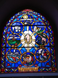 Window of the 'Creation' at the Church of the Holy Spirit, Lake Forest, Illinois